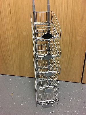 Counter Confectionery Display Unit Stand 5 Tier Shelves Chocolate Sweet Adjust