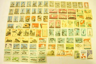 100 OLD matchbox labels of Russia MINT!!!!(НС 1960)