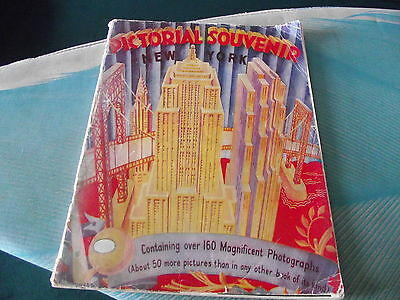 NEW YORK PICTORIAL SOUVENIR (1954) Over 160 Magnificent Photographs!