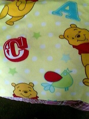 pooh bear blanket 60 by 43 inches by Disney