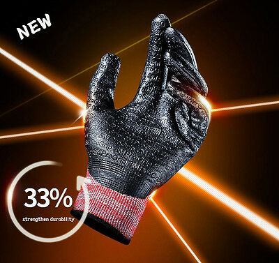 3M Pro Grip 3000 Work Gloves Protective MAX Embossing Coating Glove NEW