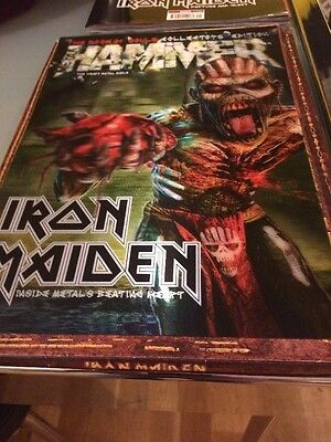 Iron Maiden 3D Hammer Book Of Souls Collectors Addition.
