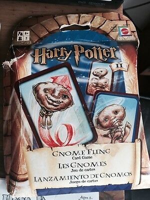 Harry Potter Gnome Toss Card Game