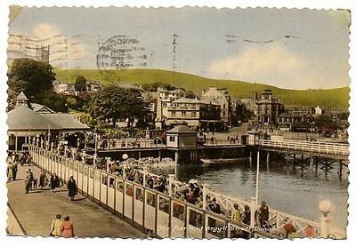 Postcard of THE PIER AND ARGYLL STREET, DUNOON, SCOTLAND, 1958