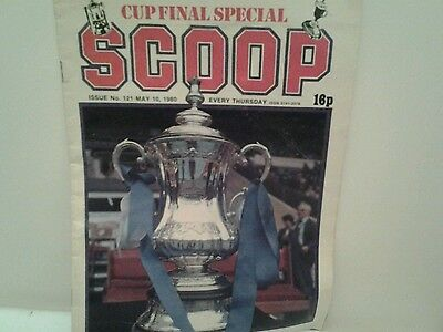Scoop no..121 may 1980  issue magazine /comic