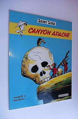 LUCKY LUKE.Canyon Apache.Edition Publicitaire McDonald's.Broché souple
