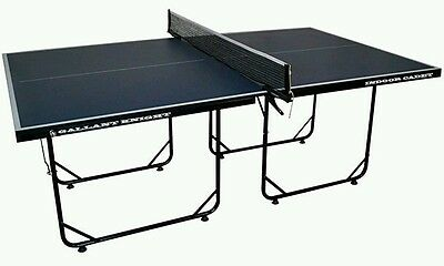 table tennis table 3/4 size folding.