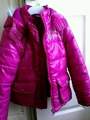 pepparts girls winter jacket age 6-7 years
