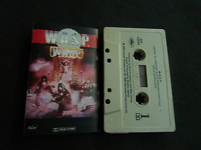 Wasp Self Titled Ultra Rare Cassette Tape!