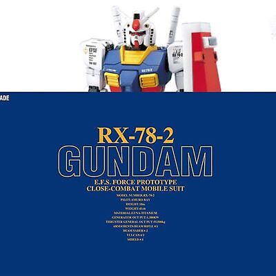 Bandai Pg 1/60 Perfect Grade Mobile Suit Gundam Rx-78-2 Nuovo New