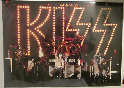 Kiss Poster Vintage Super Rare New Sealed Early 1990's