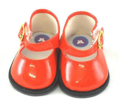 Red Patent Mary Janes, Doll Shoes 4 Baby Alive / Baby Born