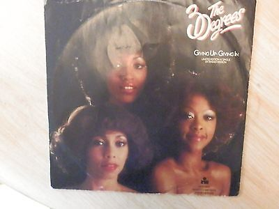 """12"""" Vinyl Record Ltd Edition Red Vinyl The Three Degrees [Giving Up-Giving Up ]"""