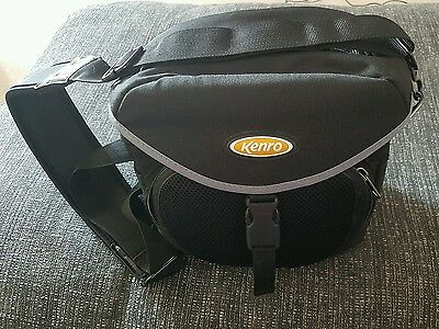 Large camera bag brand new. Unused. With shoulder strap and camera strap