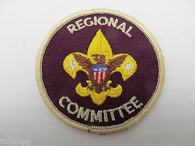 Boy Scout BSA Adult Position Patch - Regional Committee