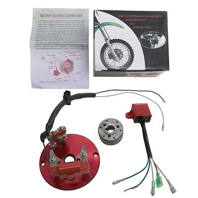 Performance Pitbike Pit Dirt Bike Magneto Rapid Rotor Kit CDI XR CRF 125cc 140cc