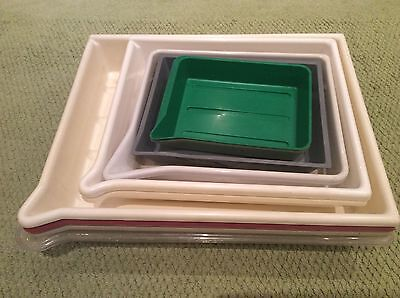 Job Lot Of 12 Plastic Photography Developing Trays
