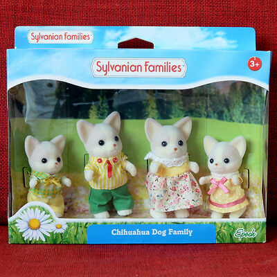 Calico Critters Sylvanian Families CHIHUAHUA DOG FAMILY Epoch
