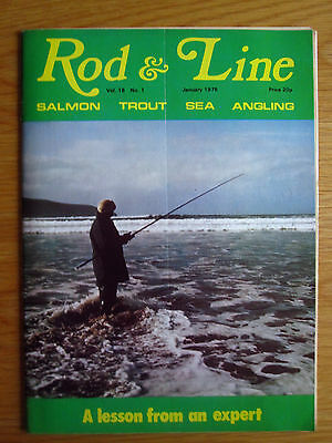 Rod and Line magazine - January 1975 Vol. 15, No. 1 (South African Trout etc.)