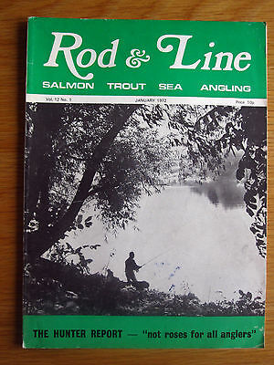 Rod and Line magazine - January 1972 Vol. 12, No. 1 (Linlithgow Loch, Salmon)