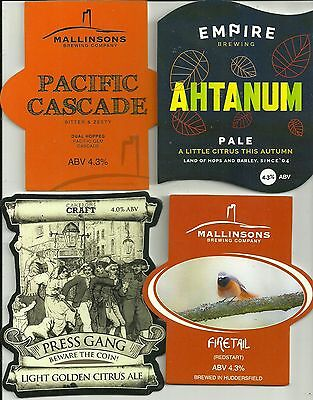 4 Various Brewery used pump clips as scan. (17)