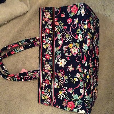 New Vera Bradley Grand Tote Ribbons new with tag