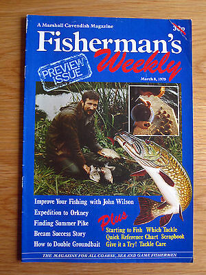 Fisherman's Weekly - March 8 1979 (PREVIEW ISSUE John Wilson, Pike, John Bailey)