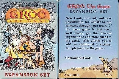Groo : The Card Game - The Expansion Set - Brand New and in Shrink