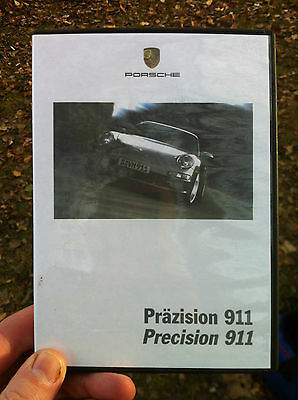 Porsche Precision DVD 2005 Porsche New 911 Carrera & S Type-997 Sales DVD