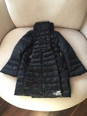 Black Moncler Girls Jacket Excellent Condition Size 8yrs