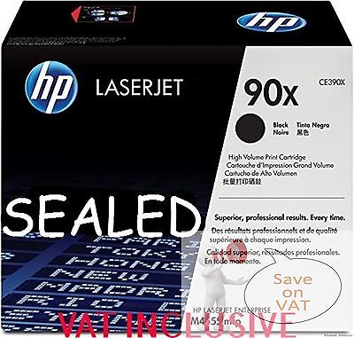 Ce390X 90X Hp New Genuine Original Toner Cartridge M602 M603 M4555 Sealed