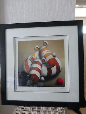 Peter Smith PLAYTIME Rare Framed Limited Edition Print