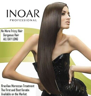 Inoar Brazilian Keratin hair straightening treatment blow dry 100 ml