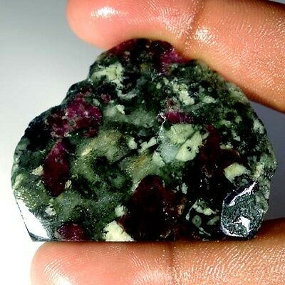 94.45Cts.100% NATURAL RUSSIAN EUDIALYTE FANCY ROUGH UNTREATED GEMSTONE