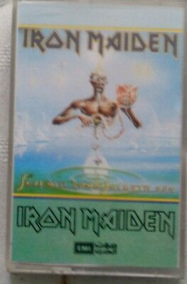 Iron Maiden Seventh Son Of Seventh Son Middle Eastern  ??????  Cassette Tape