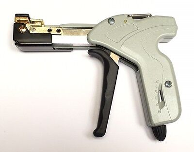 Cable Tie Gun - Tensioner / Cutter - for up 7.9mm wide Stainless Steel Ties