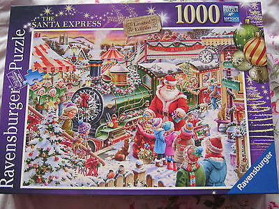 Ravensburger SANTA EXPRESS limited edition 1000 piece jigsaw puzzle