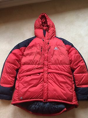 Mountain Equipment Greenland Goose Down Jacket Expedition/Ski/Extreme Climate XL