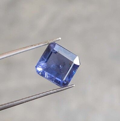 3.10Ct Huge Extremely Best Flashing Purple Blue Natural Beautiful Iolite