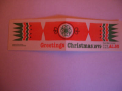 Q.e  11 1979  'christmas'   Booklet Of  Stamps