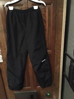 Women's 10 Regular Pull On Gore-Tex Ski Snow Pants Black  Made In USA