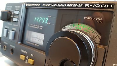 Kenwood R1000 HF Communications Receiver
