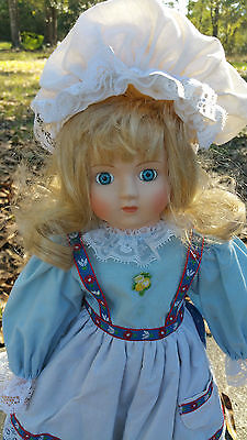 Haunted Heidi's porcelain doll from Holland.