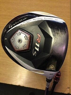 Taylormade R11S Driver 9 Degrees Stiff 2 SHAFTS