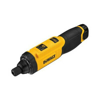 "DEWALT 8V Max Cordless Li-Ion 1/4"" Gyro Inline Screwdriver Kit DCF682N1 New"