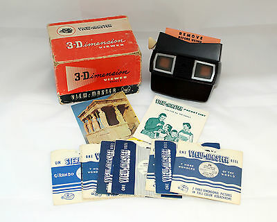 C1955-1961 Vintage Sawyers View-Master Model E in VGC (LOT 8)