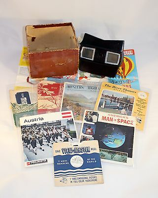C1955-1961 Vintage Sawyers View-Master Model E in VGC (LOT 11) 19 x Reels