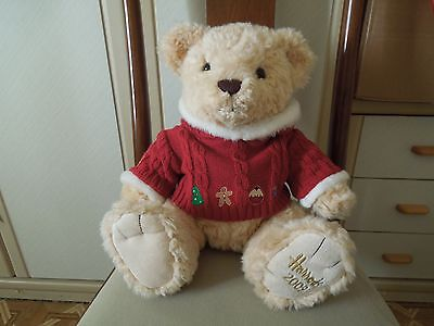 Harrods bear 2009 with cable jumper.