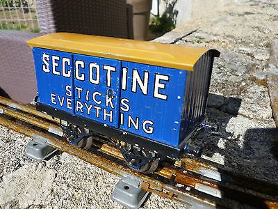 Hornby O Seccotine Private Owner Van