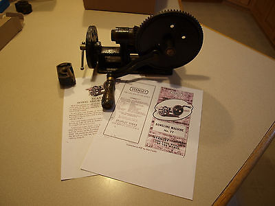 """STANLEY No.77 DOWEL & ROD TURNING MACHINE WITH 3/8"""" CUTTER"""